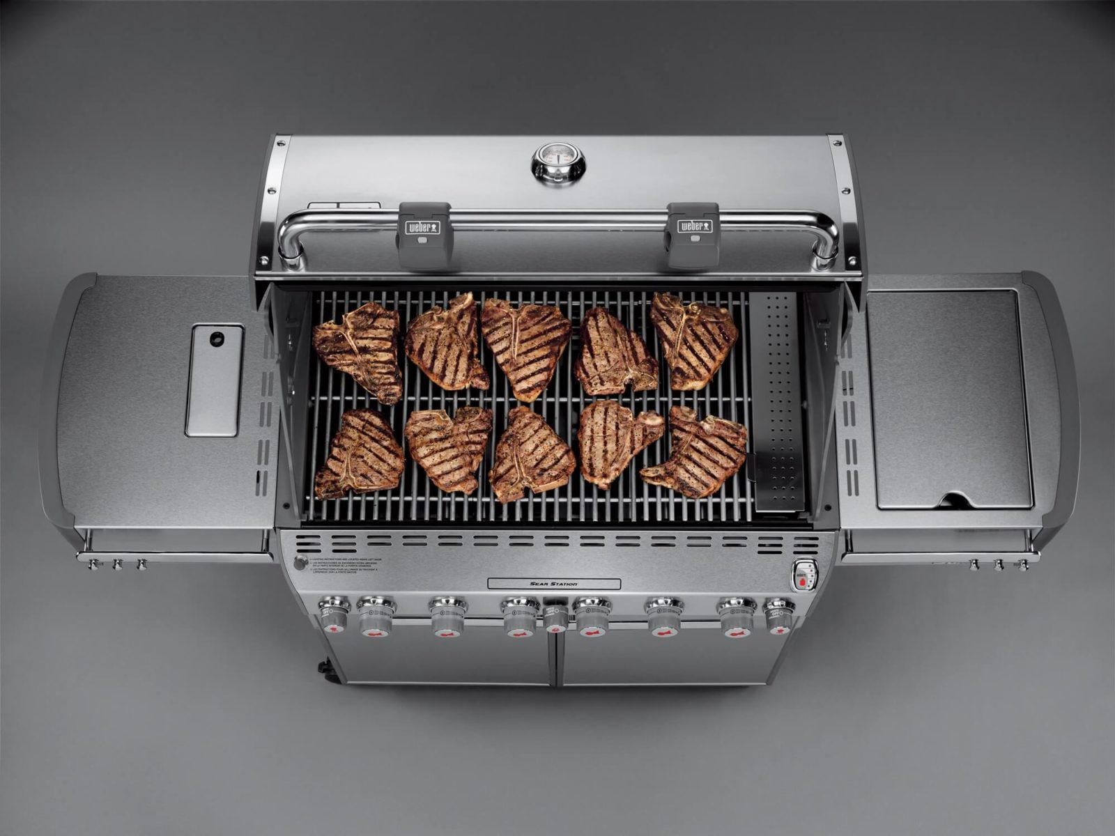 Genesis II. Шесть моделей. Один шеф-повар. Безграничные возможности.