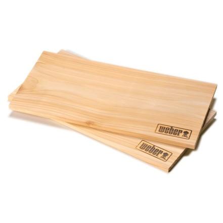 Кедровые доски для копчения, 2 шт