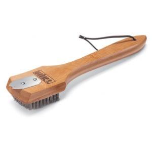Щетка с бамбуковой ручкой, 30 см