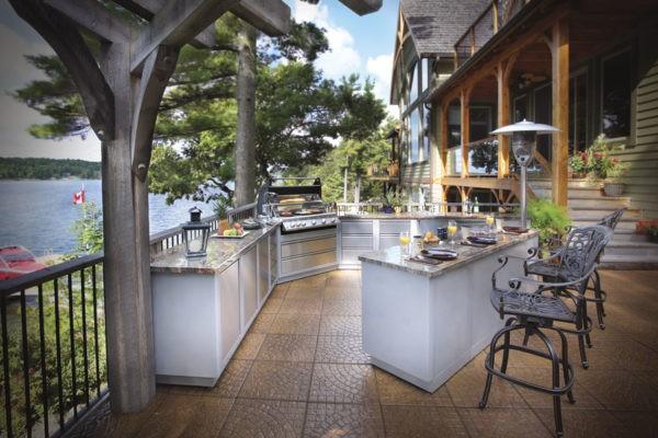 Летние модульные гриль-кухни