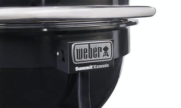 Гриль WEBER Summit® Kamado E6 (Черный)