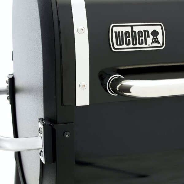 Пеллетный гриль WEBER SmokeFire EX4 GBS (Черный)